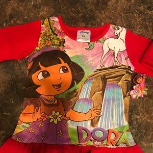 NWOT, Long sleeve Dora shirt